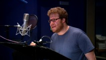 "Seth Rogen records lines as Hogsqueal the hobgoblin in ""Spiderwick: Meet the Clan!"""