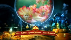 Flower sprites get their moment in the animated main menu montage used on both discs.
