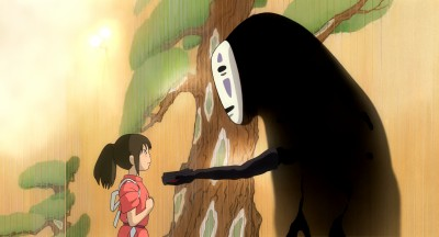 No Face reaches out to Chihiro