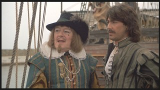Michael Gambon plays the vile Sir George. Look at that mole!