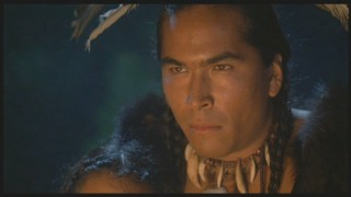 Eric Schweig turns in a strong supporting performance as Epenow, Squanto's ally and fellow captive.