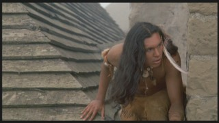 Squanto, in the midst of another daring escape.