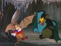 "A nasty, real bat mocks the wings, and the dreams, of ""The Flying Mouse."""