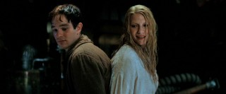 "Protagonist Tristan (Charlie Cox) and fallen star Yvaine (Claire Danes) are tied up back-to-back in ""Stardust."""