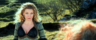 Rendered (relatively) young and beautiful again, Lamia (Michelle Pfeiffer) tries to track down the fallen star, while her costume contends for the Best Supporting Garment award.