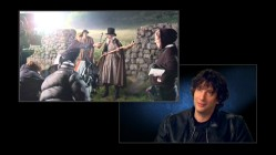 "Author and ""Beowulf"" screenwriter Neil Gaiman comments on the filming of his novel ""Stardust"" while see B-roll footage at the wall of Wall."