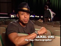 "Co-choreographer Jamal Sims offers his thoughts on the young actors he trained for the film in the featurette ""Making the Moves."""