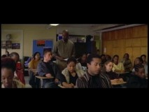 In a brief deleted scene, Tyler sneaks into class right before a test.
