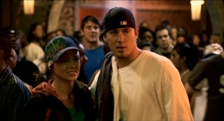 "The lone holdover from ""Step Up"", Channing Tatum sticks around long enough for a dance-off that sets the sequel's plot in motion for Andie West (Briana Evigan)."