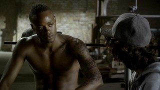Jacob (Keith Stallworth) explains the significance of his tattoos to Moose in this deleted scene.