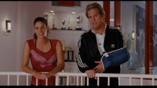 Personalities clash, but Haley does find common ground with slick coach Burt Vickerman (Jeff Bridges).