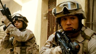 Though Iraq combat footage is limited to the opening 13 minutes, the scene is meant to thrill and move.