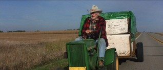 "The enduring image of ""The Straight Story"": the old man on his lawnmower."