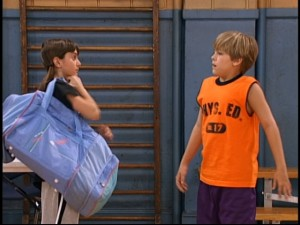 "Things are odd between Zack and Max (Alyson Stoner of ""Mike's Super Short Show"") in ""Kisses & Basketball."""