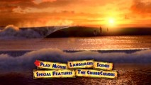 The Surf�s Up DVD�s main menu showcases, among other things, a look at the ocean waves against the sunset.