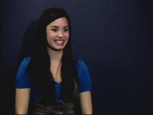 "In her audition tape, Demi Lovato excitedly performs an early version of the scene where she first meets the ""So Random"" cast."