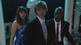 "The mysterious masked fencer who challenges Mackenzie to a duel on ""Mackenzie Falls"" is probably trying to wrap his head around Mackenzie being played by Chad Dylan Cooper who in turn is played by Sterling Knight."