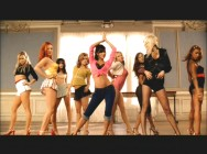 "The Pussycat Dolls show off their talent in the ""Sway"" music video."
