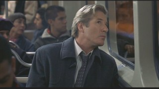 Mr. Sugiyama...I mean, John Clark (Richard Gere) likes to peer out the train door windows.