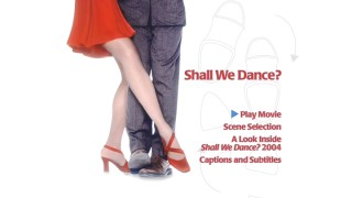 "The main menu for ""Shall We Dance?"""