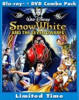 Snow White and the Seven Dwarfs: Diamond Edition Blu-ray cover art