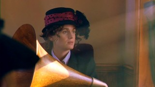 Inge Ottenberg (Elizabeth Reaser) arrives in the New World with high hopes, a very small grasp of English, and a big wooden Victrola phonograph.