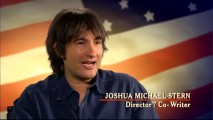 "Joshua Michael Stern, the young man who directed and co-wrote ""Swing Vote"" appears in the disc's making-of featurette."
