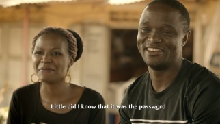 "The real Susan and Robert Katende speak in the bonus short ""A Fork, A Spoon & A Knight."""