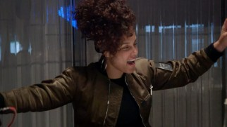 "Alicia Keys finds the sound of ""Back to Life"" in the studio."