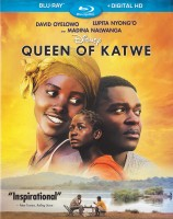 Queen of Katwe: Blu-ray + Digital HD cover art -- click to buy from Amazon.com