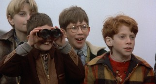 Woody Allen's young surrogate Joe (Seth Green) and friends get an eyeful from binoculars and an undressing neighbor.