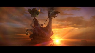 Rango rides off into the sunset (or tries to, at least) in this never-before-seen ending.