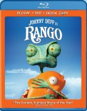 Rango: 2-Disc Blu-ray + DVD + Digital Copy combo pack cover art - click to buy from Amazon.com