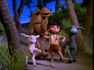 "The little drummer boy Aaron and his animal friends are back in Rankin/Bass' ""The Little Drummer Boy Book II."""