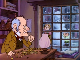 "Ebenezer Scrooge is ""The Stingiest Man in Town."""