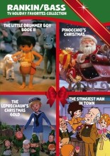 Rankin/Bass TV Holiday Favorites Collection DVD cover art -- click to buy from Amazon.com