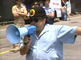 In the making-of featurette, Danny DeVito breaks out the bullhorn as the director of