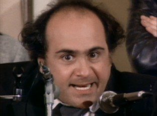 "A graceless cement man (Danny DeVito) runs for New Jersey senator in ""The Selling of Vince D'Angelo."""