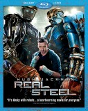 Real Steel (2011): Blu-ray + DVD combo cover art -- click to buy from Amazon.com