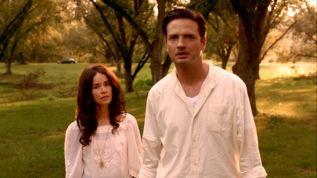 "In ""Rectify"", Daniel Holden (Aden Young) is momentarily exonerated of the murder and rape for which he has spent more than half of his life on death row."