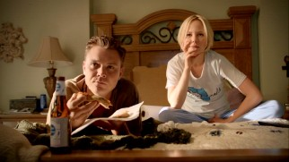Young half-brother Ted Jr. (Clayne Crawford) and his wife Janet (Adelaide Clemens) do not agree on Daniel's redeemability.