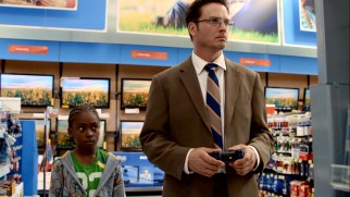At Walmart, Daniel (Aden Young) discovers just how far video games have come since 1994.