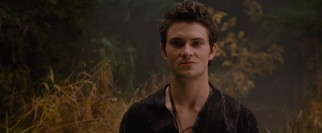Peasant woodcutter Peter (Shiloh Fernandez) seems to have the advantage of the two hunks vying for Valerie.