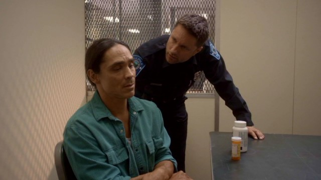 Harold (Martin Henderson) expects to put Mike Parker (Zahn McClarnon) away for life on the basis of stolen pharmaceuticals, action he'll soon reconsider as a form of self-preservation.