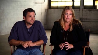 "Creator Aaron Guzikowski and executive producer Bridget Carpenter discuss The Red Road in ""Sundance on Set."""