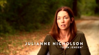 "Julianne Nicholson talks about her and other characters in ""Cast and Crew."""
