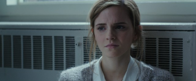 Angela Gray (Emma Watson) is afraid to disclose the abuse she has experienced.