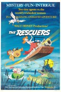 The Rescuers (1977) movie poster