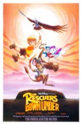 The Rescuers Down Under (1990) movie poster