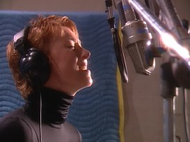 "Jonatha Brooke sings ""I'll Try"" in a music video that surprisingly resurfaces from Return to Never Land's original DVD."